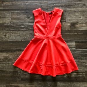 Do & Be Skater/Circle Skirt V-Neck Dress